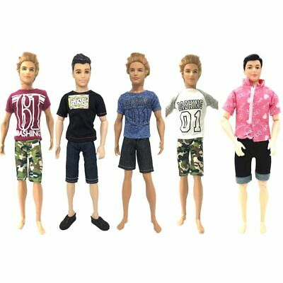5pcs Doll Clothes Fashion Sport Shorts Outfit Toys Accessories Gifts For Kids