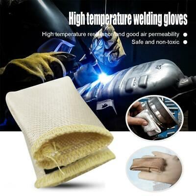 TIG Finger Weld Monger Welding Gloves Heat Shield Cover Guard Safety Protection