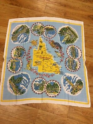 Vintage Queensland Supper Tablecloth