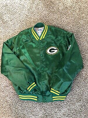 competitive price a219d cc9e0 VINTAGE GREEN BAY Packers Starter Jacket Size 2XL XXL NFL ...