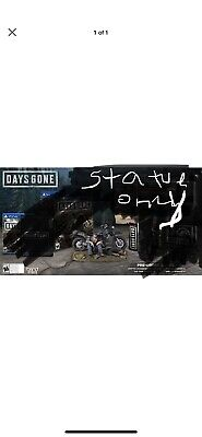 Days Gone Collector's Edition Statue only nothing else included  Statue Only