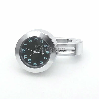 Motorcycle Chrome Clock For Harley Dyna Softail Sportster Touring XL 1200 883