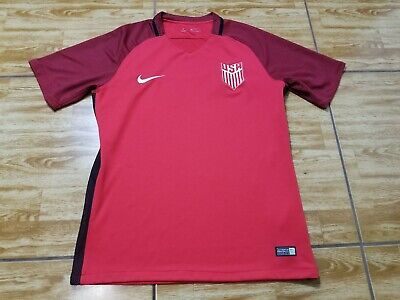 1dd44498e92 Nike USA 2017 Dri Fit Authentic Vapor Match Soccer Jersey Men s Size Medium