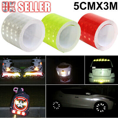 Self Adhesive Stickers Intensity_ Safety Reflective Tape Vinyl luminous High