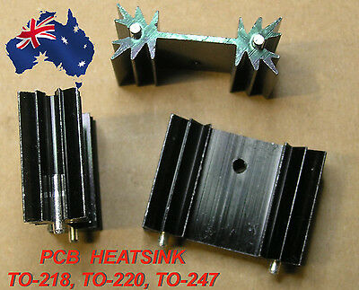 HEATSINK  PCB T0220 T0218 T0247 TOP3 34mm x 25mm x 12mm