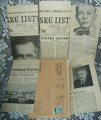 5 x 1969 MTHLY ISSUES OF 'CESKE' LISTY' NEWSLETTERS/MAGAZINES Czech Republic