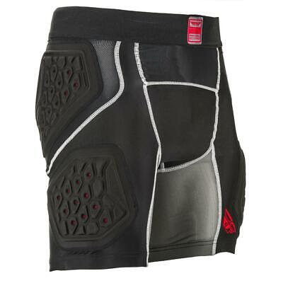 Fly Racing Protektor-Short Barricade Compression Schwarz