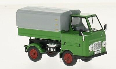 Autos, Lkw & Busse Multicar M22 Pick-up Telonato 1965 Green Grey Ist Model 1:43 Ist289r Model Modellbau
