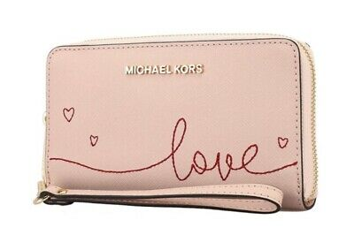 eda1f035971f NWT Michael Kors Giftables Large Flat Multifunction Phone Case Clutch Wallet