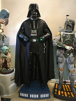 Life Size Sideshow Darth Vader Prop Full Size Statue
