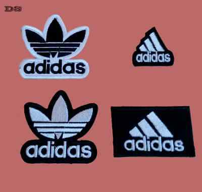 Adidas Brand Logo Embroidered iron sew on Patch Badge