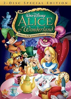 Alice in Wonderland Kathryn Beaumont DVD Kids & Family Anime Special Edition