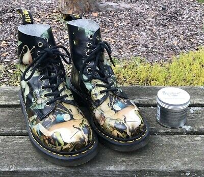 Hieronymus Bosch Garden Of Earthly Delight Hell Dr. Marten Pascal Boots (RARE)