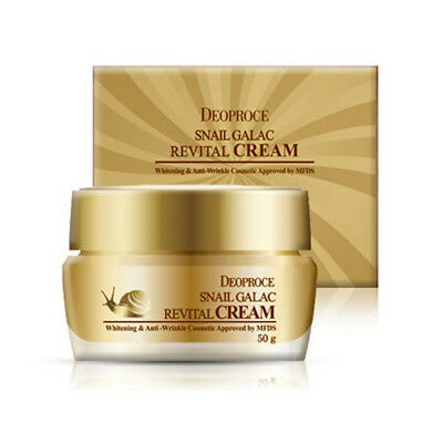 DEOPROCE Snail Galac-Tox Revital Cream 50g/1.76oz with snail slime K-beauty