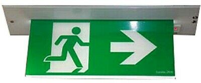 Stanilite LEGEND CEILING RECESSED MAINTAINED EXIT SIGN 10W Body Only, White