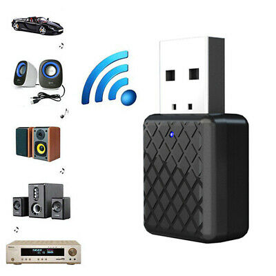 USB Bluetooth 5.0 Transmitter Audio Stereo Receiver Adapter for TV PC Speaker
