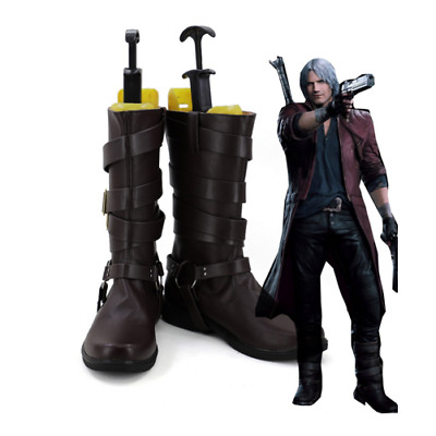 Devil May Cry V DMC5 Dante Aged Cosplay Boots Shoes Custom Made Any Size