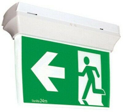 Stanilite EXIT LED EDGELIT QUICKFIT PICTOGRAPH 379x72x232mm 3.6W Polycarbonate