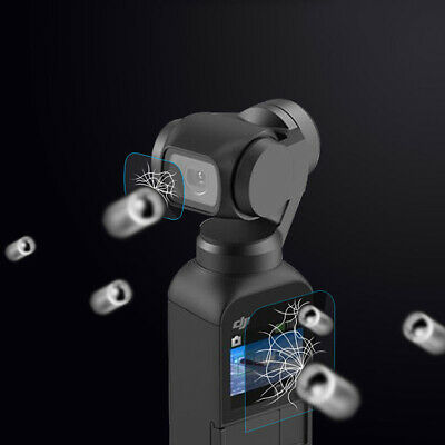 Tempered Glass Camera Lens and Screen Film Protector Cover For DJI OSMO Pocket