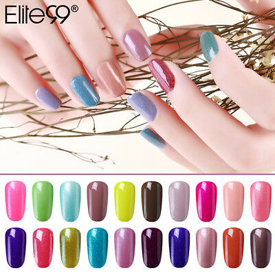 Elite99 Esmalte Semipermanente Brillante Uñas en Gel UV LED Base Top Coat 15ml