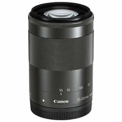 Brand New Canon EF-M 55-200mm f/4.5-6.3 IS STM Lens Black Bulk Box DE*au
