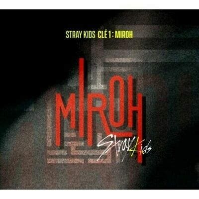 Stray Kids-[Cle 1:Miroh] Normal Album CD+PhotoBook+QR Card+Post+Gift+Pre-Order