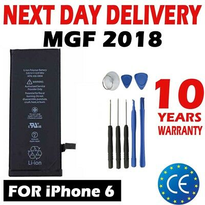 NEW  REPLACEMENT BATTERY FOR Apple IPHONE 6 6G 1810mAh Full CAPACITY + TOOLS