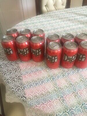 Duff Beer (The Simpsons) 6 Pack Unopened (Not Suitable For Drinking)