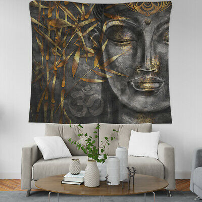 Buddhism Buddha Lotus Pattern Home Decor Wall Art Tapestry Table Cloth 12 design
