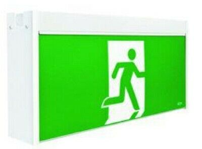 Stanilite JUMBO LED MAINTAINED EXIT SIGN 615x123x310mm SS Picto- Wall Or Ceiling