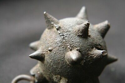 RARE Old German flail Ball and chain WW1 Morningstar wall decoration antique