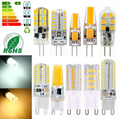 ZML G4 G9 3W 5W 6W 8W 10W LED High Power Lámpara Corn Light COB AC/DC 12V 220V