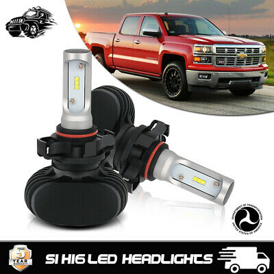 LED Fog Light H16/5202 LED Headlight Replace Xenon Bulbs For Chevrolet Colorado