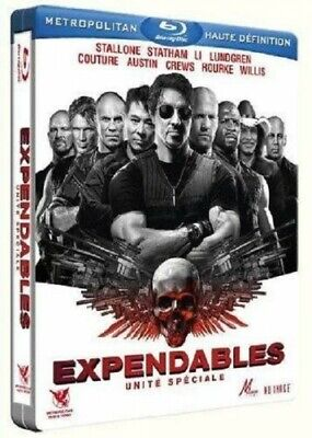 The Expendables : Unité spéciale (STEELBOOK BLU-RAY NEUF) Stallone,Willis...