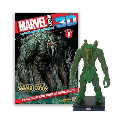 Panini - Centauria - Marvel Heroes 3D collezione ufficiale - MAN THING EXTRA #8
