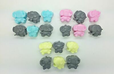 20 x Mini Elephant Soaps - Scented - Baby Shower Game Prize Christening Favours