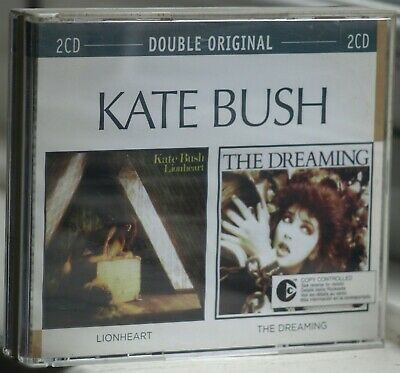 Kate Bush Lionheart and The Dreaming 2 CD BOX SET - UK buyer only