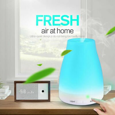 LED Oil Essential Ultrasonic Aroma Aromatherapy Diffuser Air Humidifier Purifier