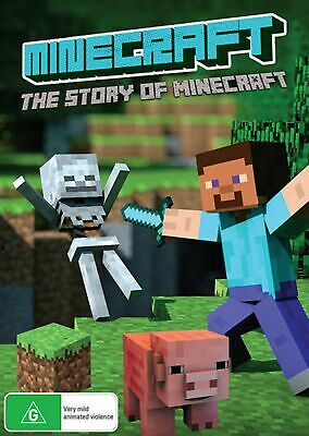 Minecraft The Story of Minecraft DVD Region 4 NEW