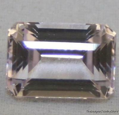 NATURAL PINK KUNZITE 8X11mm LOOSE GEMSTONE FACETED OCTAGON 5CT KU16