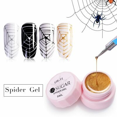 UR SUGAR 5ml Spider Gel Creative Wire Drawing Nail Gel Point To Line Painting
