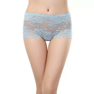 1 Pack Women Ladies Sexy Full Lace High Waist Brief Knickers Lingerie Underwear