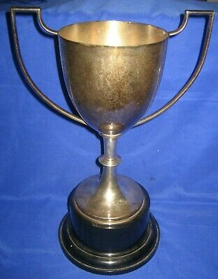 Vintage Large  Silver Plated  Trophy, Loving cup