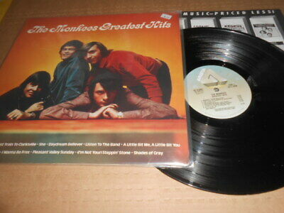 The Monkees Greatest Hits Record Lp, Excellent Vinyl