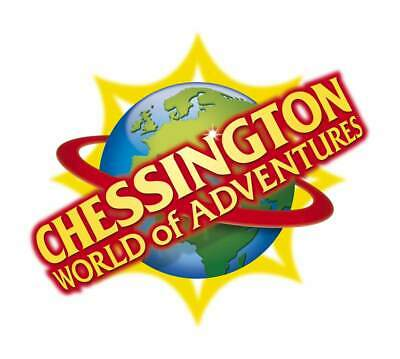 2x Chessington World Of Adventures e-Tickets 19/08/19 19th August 2019 Monday
