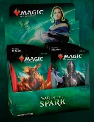 MTG Magic War Of The Spark THEME Booster Box: 10 jumbo packs
