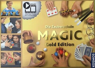 Zauberschule Magic Gold Edition 150 kindergerechte Zaubertrick Zauberartikel & -tricks Kosmos 698232