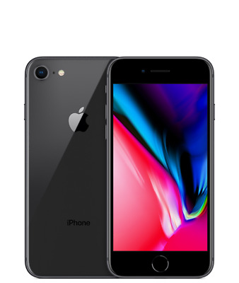 Apple Iphone 8 64Gb Grey Black 4G Lte - Ricondizionato  Grado A