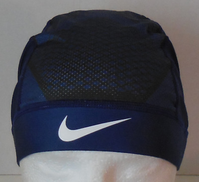 6df9c516215 Nike Pro Hypercool Vapor Skull Cap 4.0 Color Loyal Blue Black White Size  OSFM