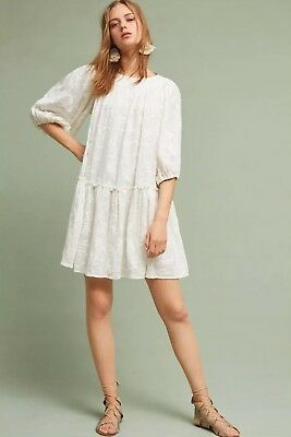 812b42b68456 ANTHROPOLOGIE MAEVE ALLISON Embroided Floral Tunic Size XS - $75.00 ...
